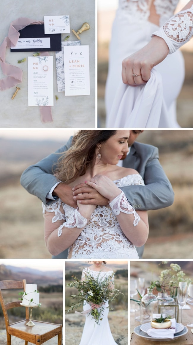 Winter Elegance Wedding Inspiration by Ian Odendaal | SouthBound Bride
