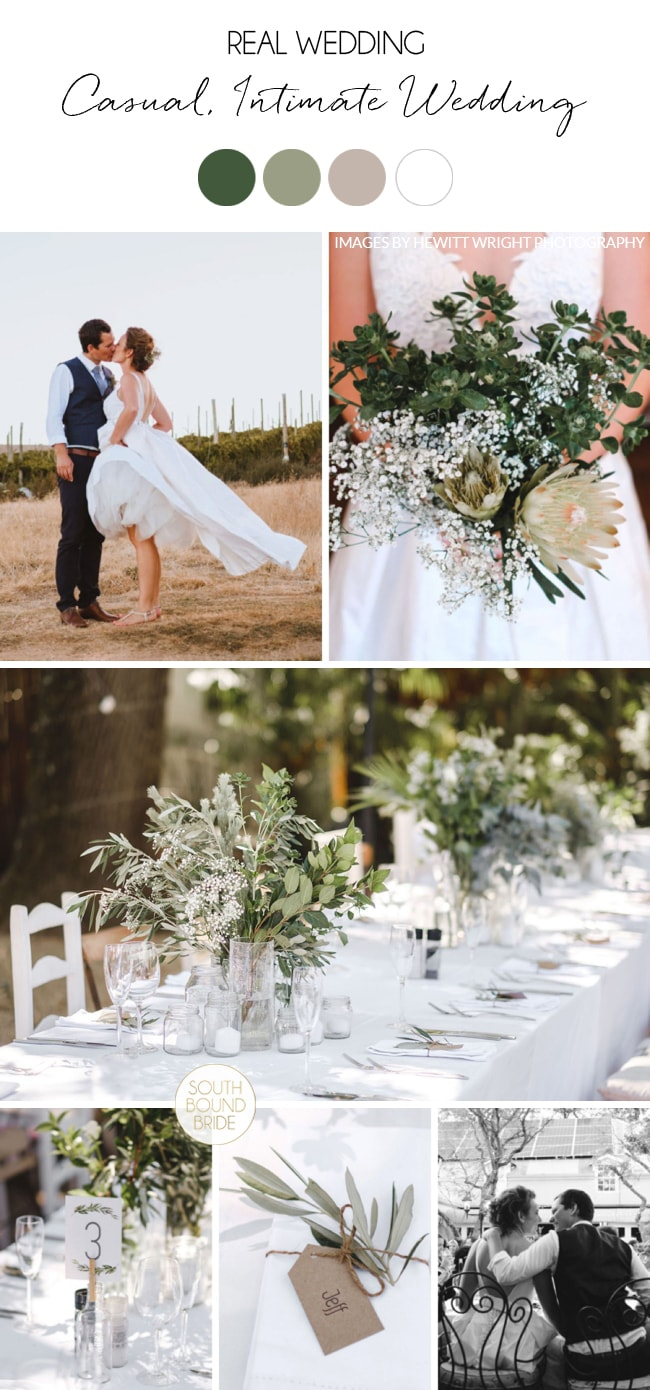Casual, Intimate Wedding by Hewitt Wright Photography | SouthBound Bride