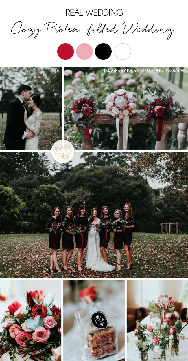 Cozy Protea-filled Wedding by Kristi Smith | SouthBound Bride