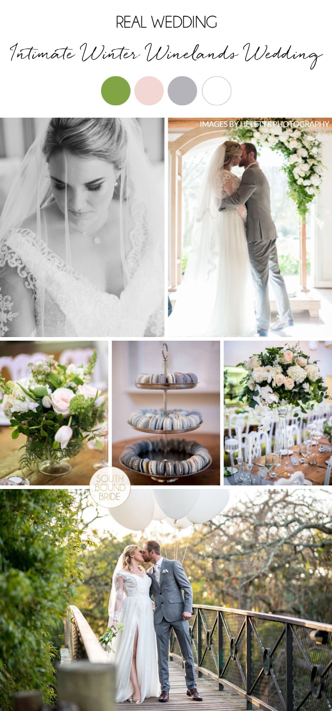 Intimate Winter Winelands Wedding by Helette Photography | SouthBound Bride
