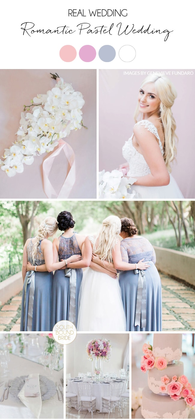 Romantic Pastel Wedding at Memoire by Genevieve Fundaro | SouthBound Bride