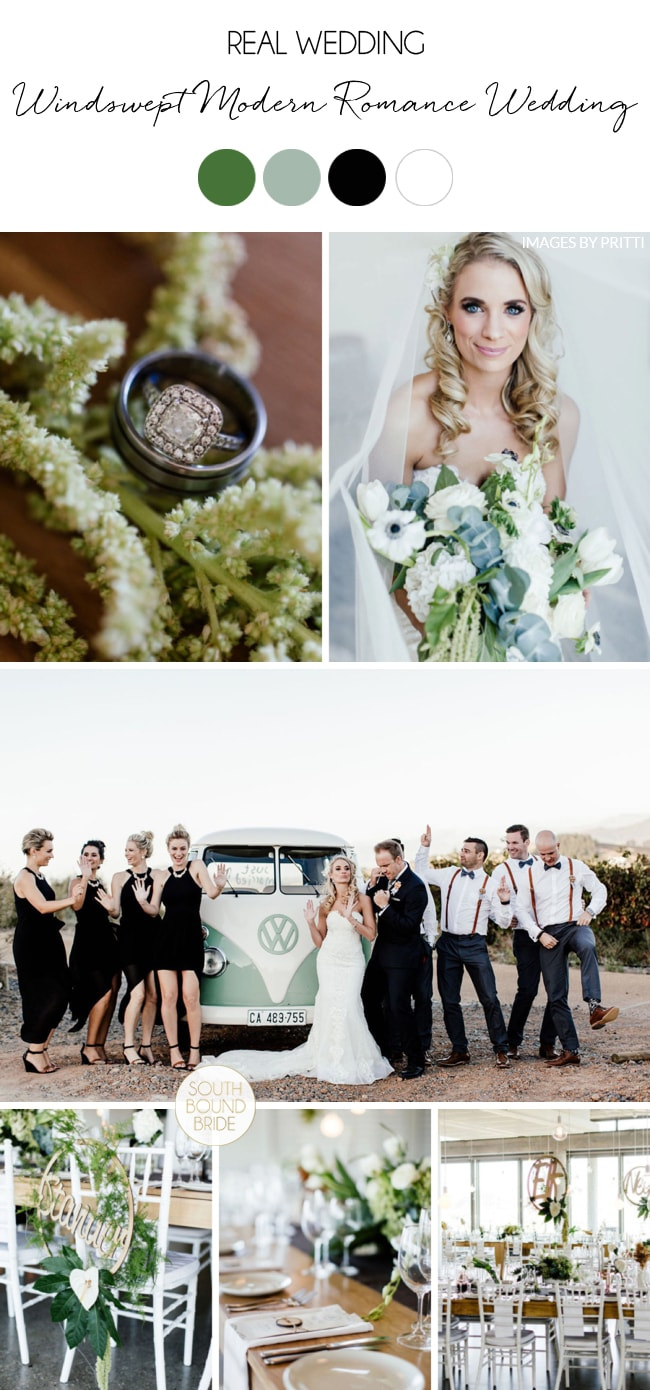 Windswept Modern Romance Wedding by Pritti | SouthBound Bride