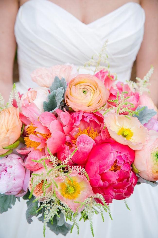 20 bright wedding bouquets southbound bride for Bright wedding bouquet