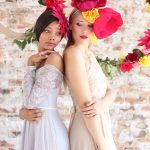 Colourful Paper Flower Wedding Inspiration