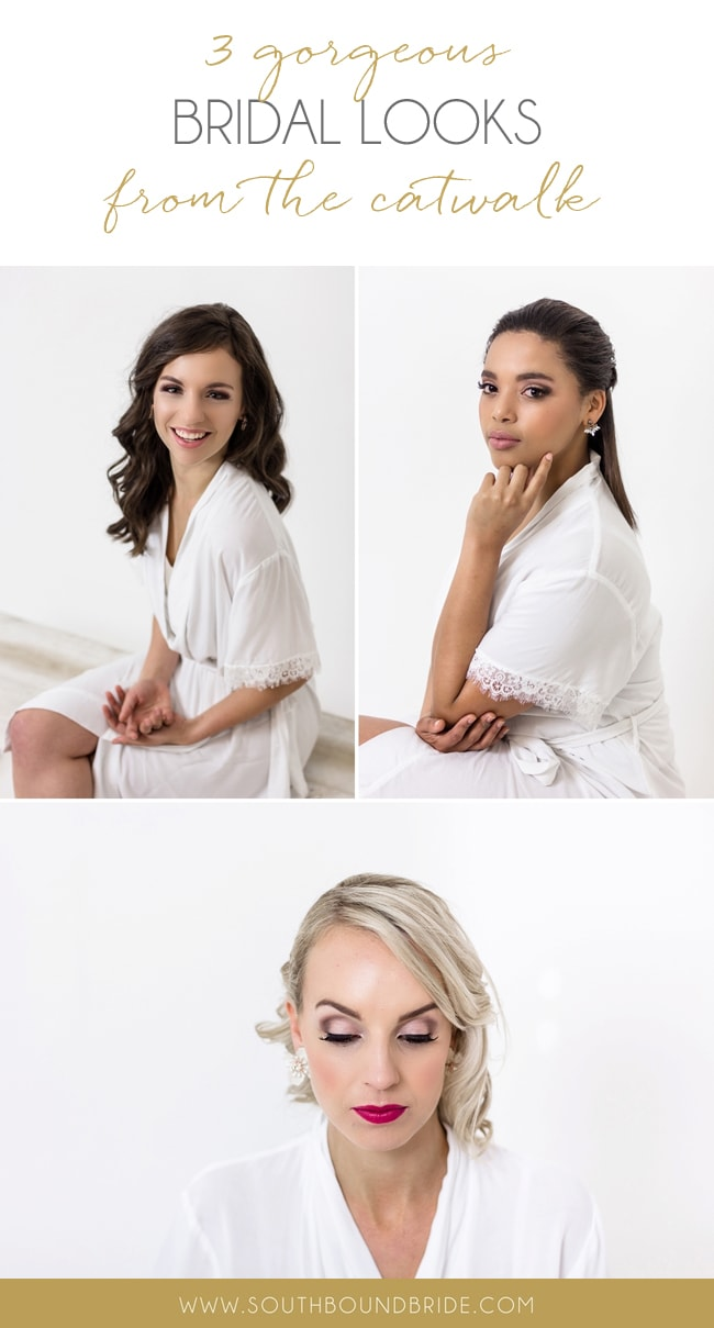 3 Gorgeous Summer Bridal Looks from the Catwalk with Sketch & M | SouthBound Bride