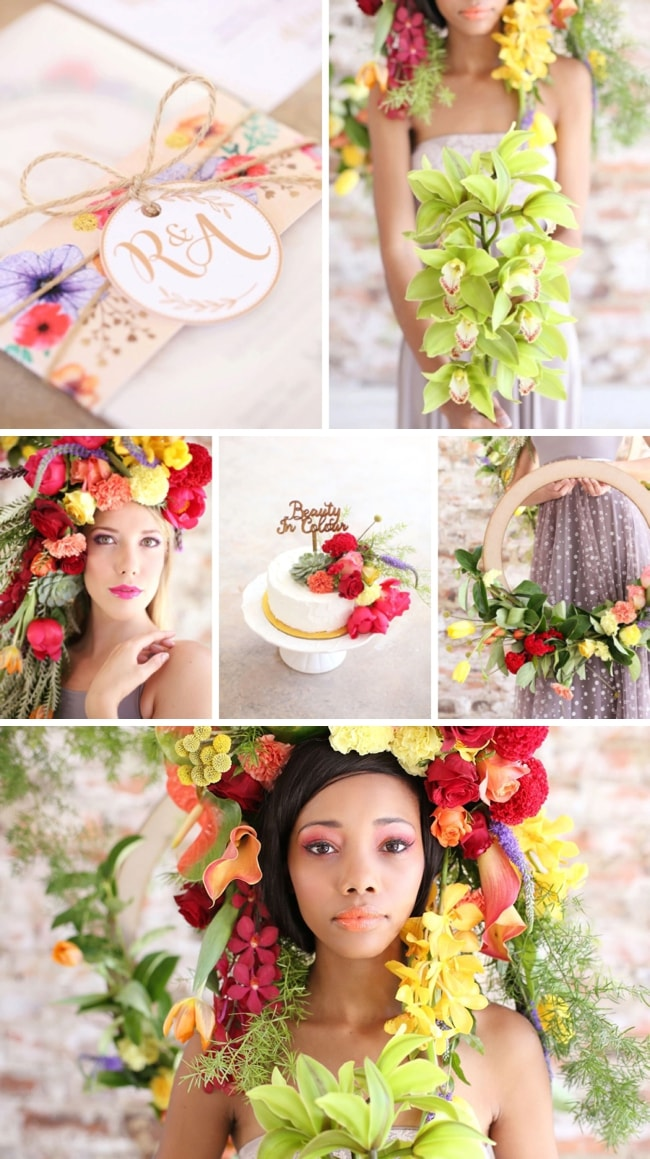 Beauty in Colour Tropical Wedding Inspiration | SouthBound Bride