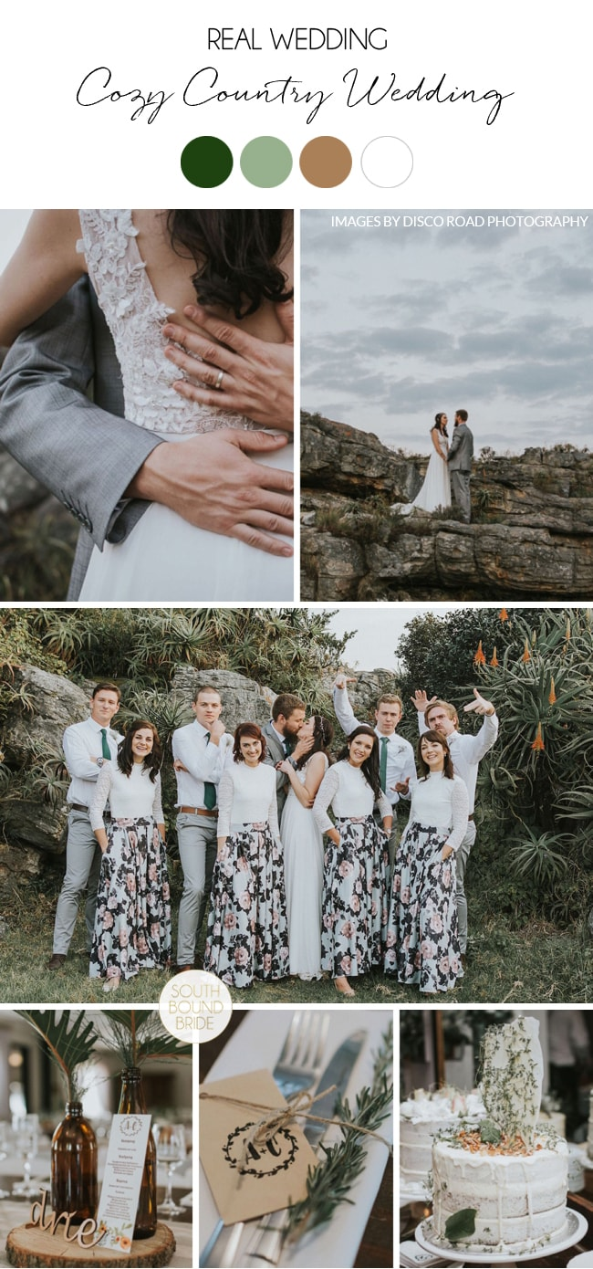 Cozy Country Wedding in Kaapsehoop by Disco Road Photography | SouthBound Bride