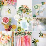 Inspiration Board: Summer Citrus