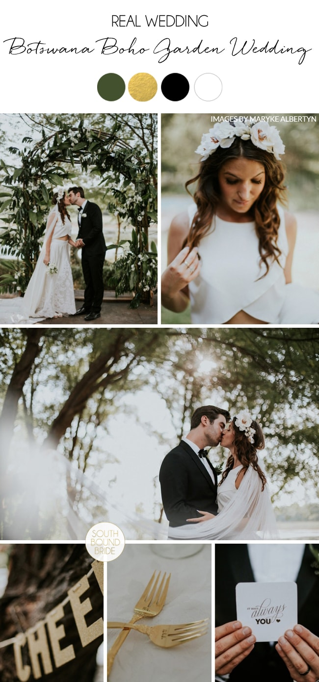 Botswana Boho Garden Wedding by Maryke Albertyn | SouthBound Bride
