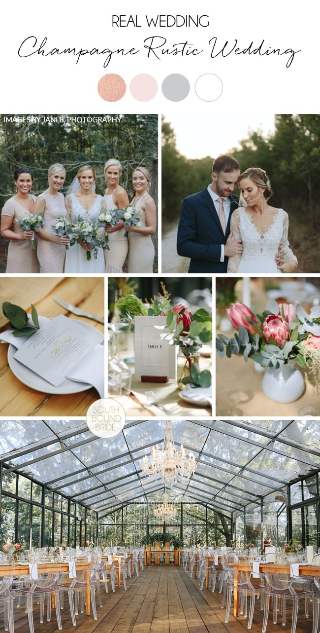 Champagne Rustic Wedding by Jani B. | SouthBound Bride
