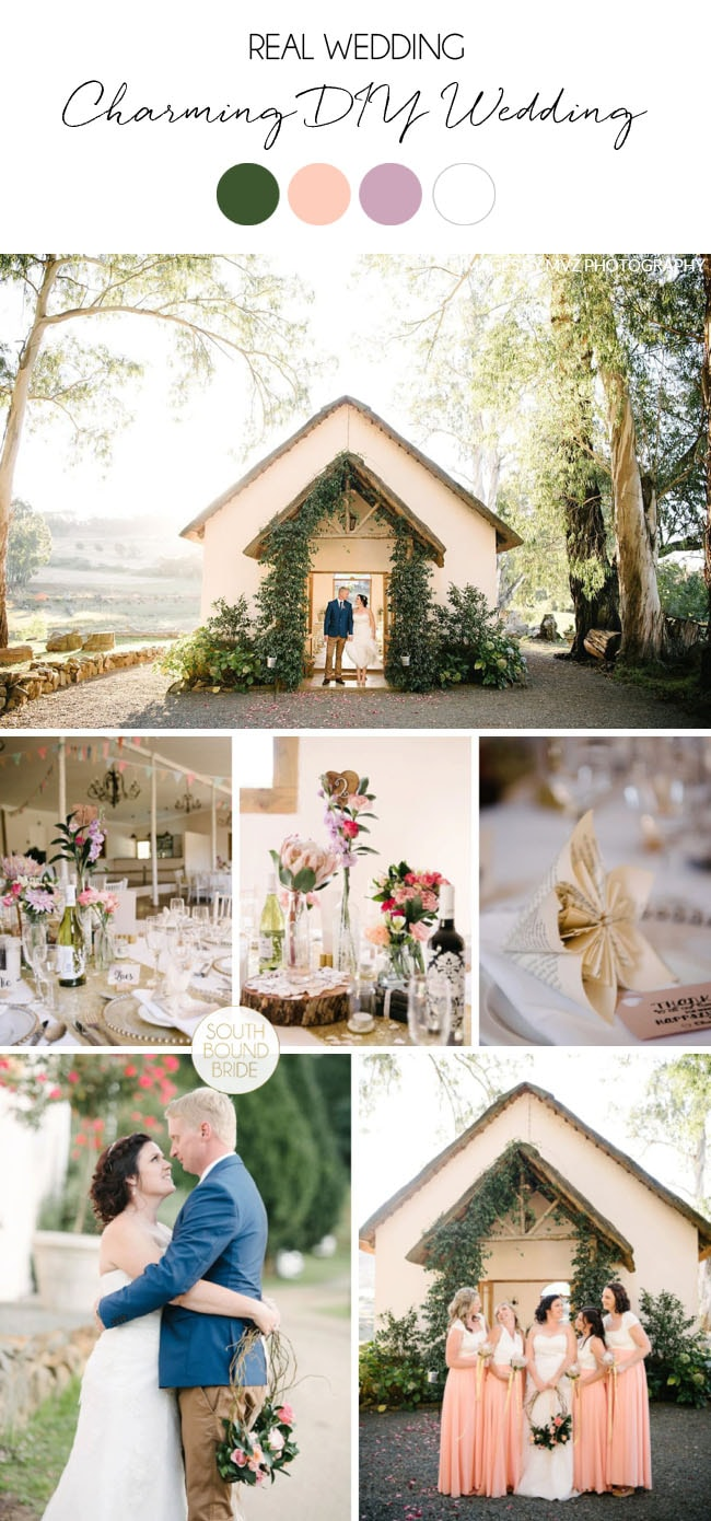 Charming DIY Wedding at Cranford Country Lodge by Tanya Jacobs | SouthBound Bride