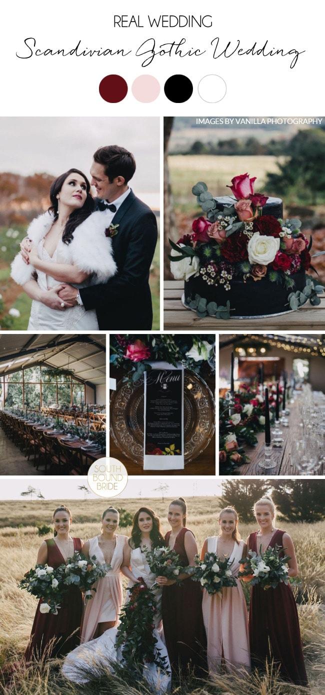 Scandinavian Gothic Wedding by Vanilla Photography   SouthBound Bride