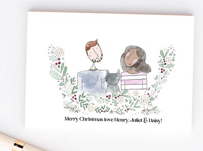 Christmas Cards for Newlyweds