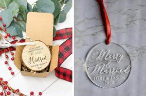Newlywed Christmas Ornaments