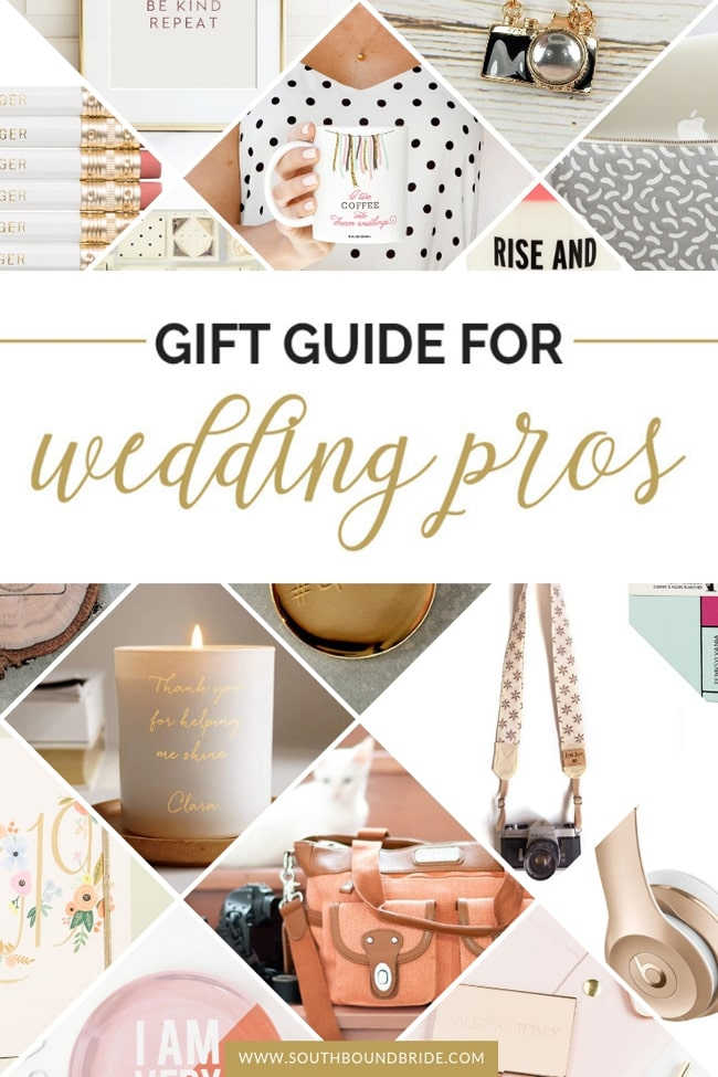Gift Guide for Planners & Other Wedding Pros | SouthBound Bride