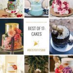 20 Best Wedding Cakes of 2017