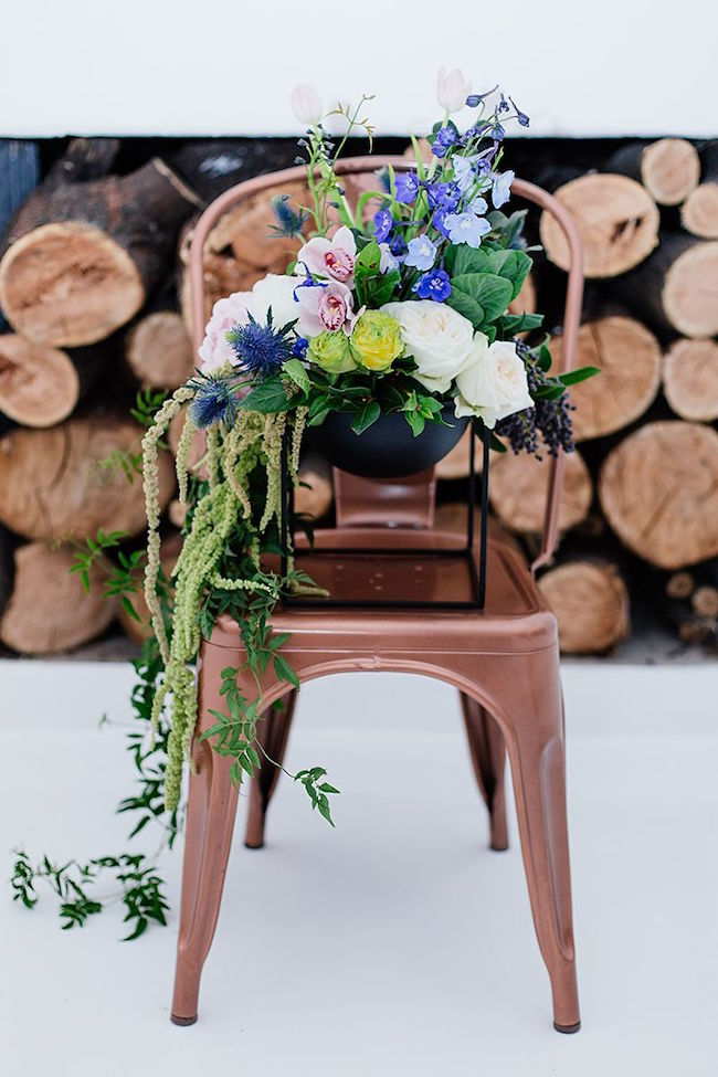Navy and Copper Wedding Inspiration | Credit: Werner J Photography