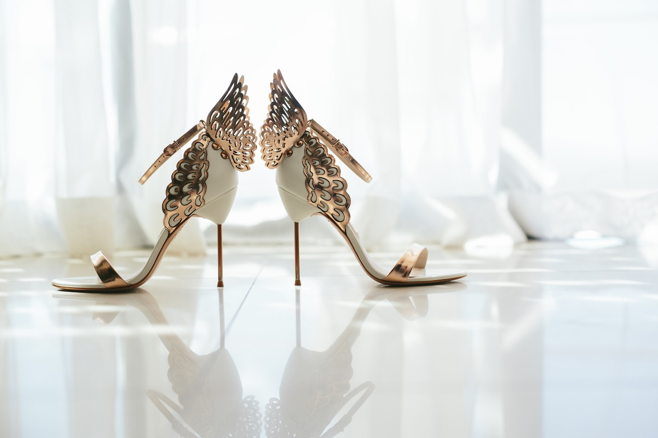Sophia Webster Evangeline Wedding Shoes | Credit: Vivid Blue