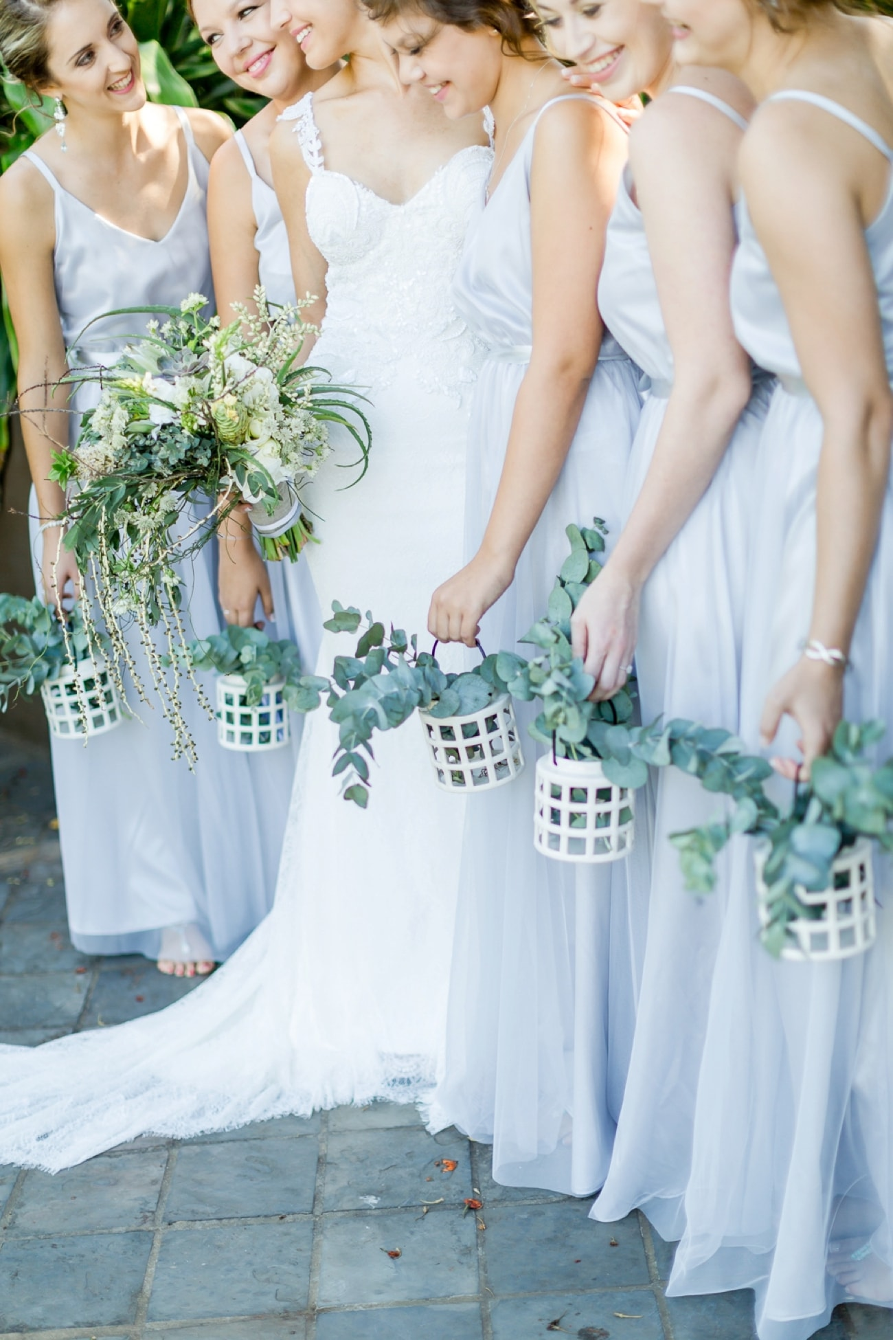 Bridesmaid Lanterns Bouquet Alternative | Credit: Grace Studios / Absolute Perfection