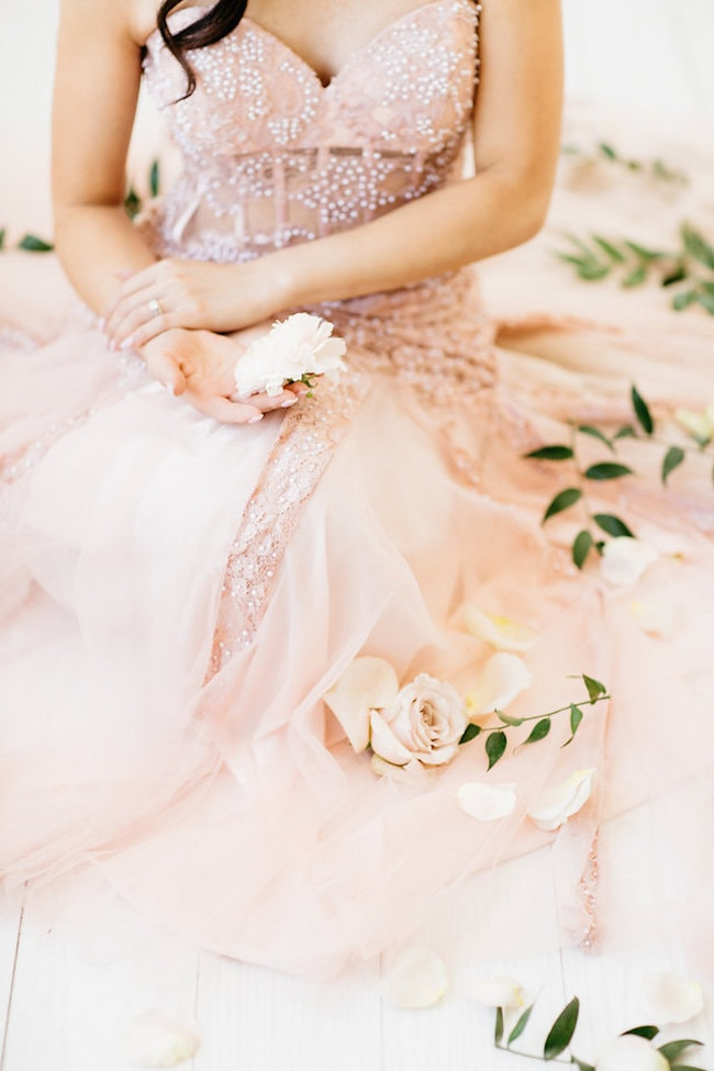 Blush Bride | Credit: Peaches With Honey