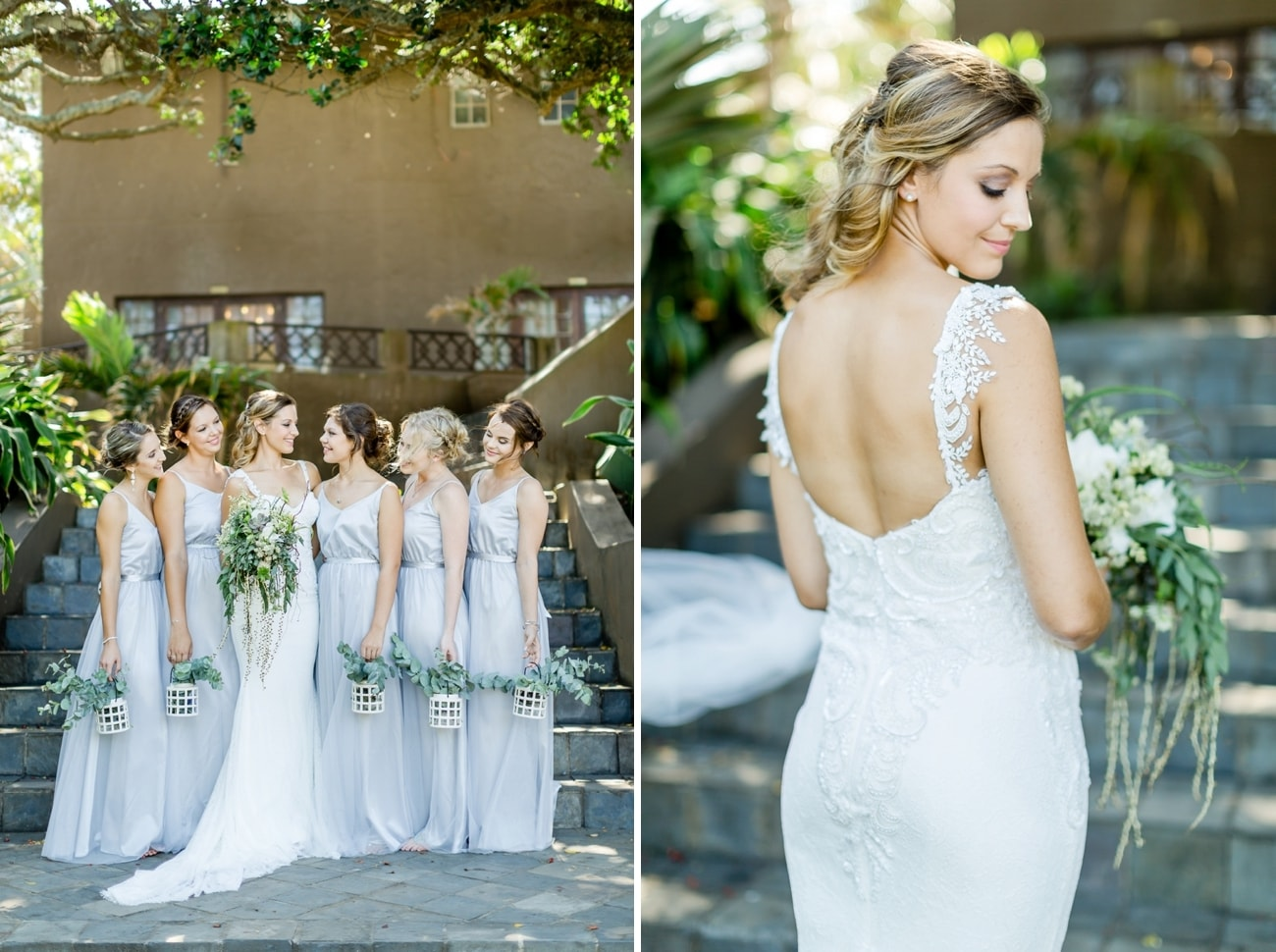 Pastel Grey Bridesmaid Dresses | Credit: Grace Studios / Absolute Perfection