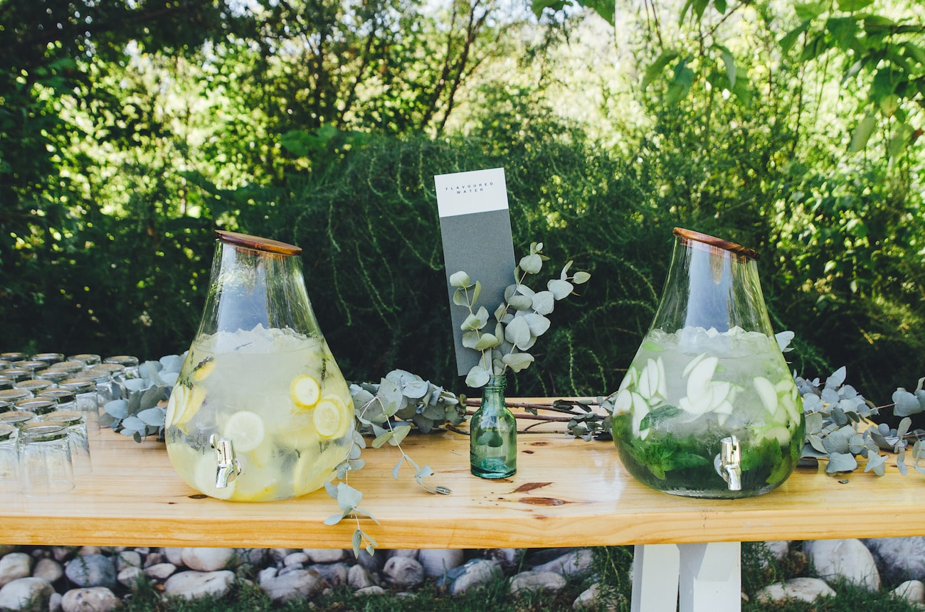Drinks Station at Wedding | Credit: Yeah Yeah Photography