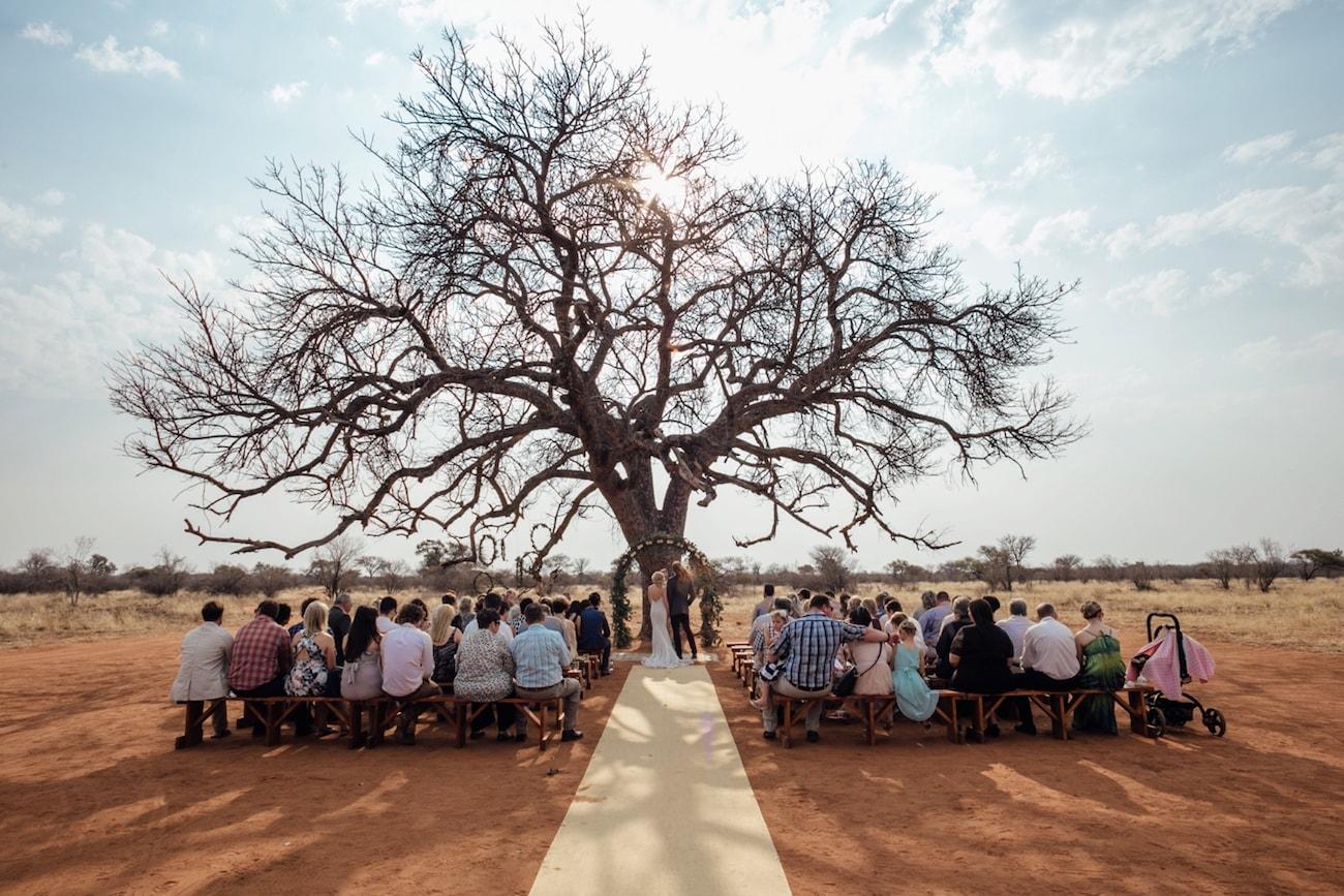Bush Wedding Ceremony | Credit: Page & Holmes
