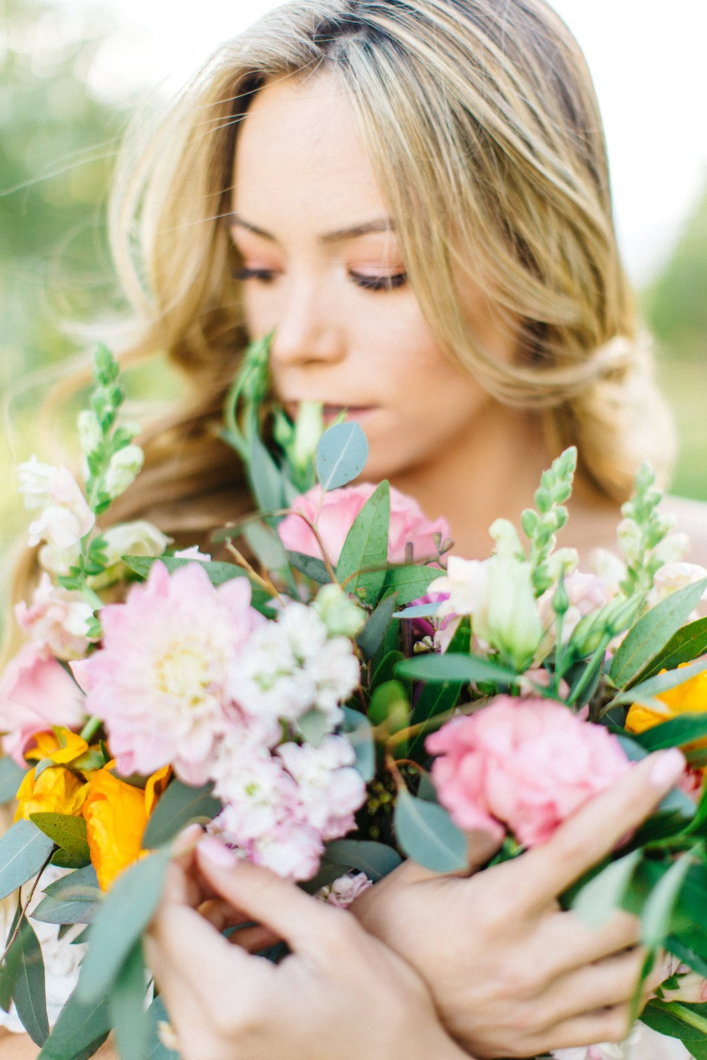 Hair Down Bride | Credit: Julia Stockton Photography