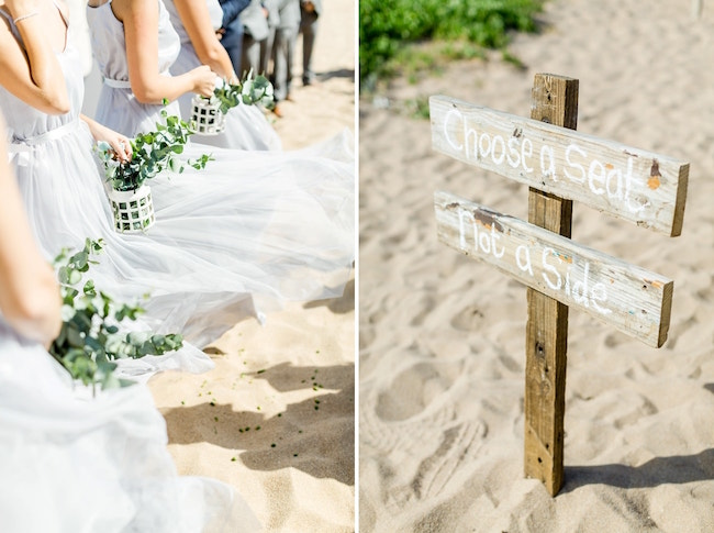 Choose a Seat Wooden Sign | Credit: Grace Studios / Absolute Perfection