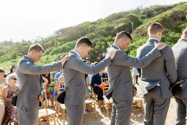 Groomsmen Prayer | Credit: Grace Studios / Absolute Perfection