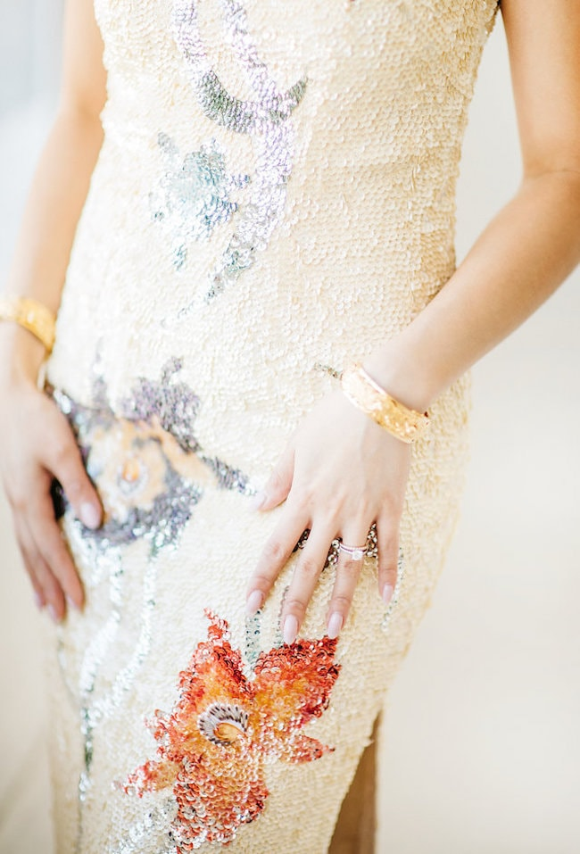 Sequin Tea Ceremony Dress | Credit: Peaches With Honey