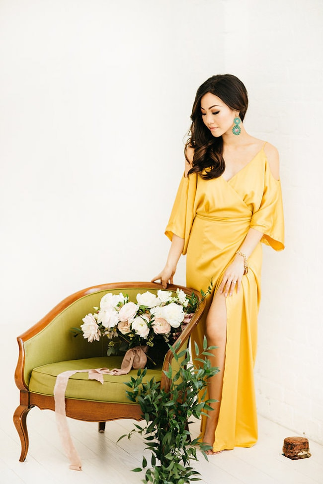 Sunshine Yellow Dress | Credit: Peaches With Honey