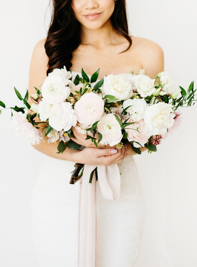 Blush Bouquet | Credit: Peaches With Honey