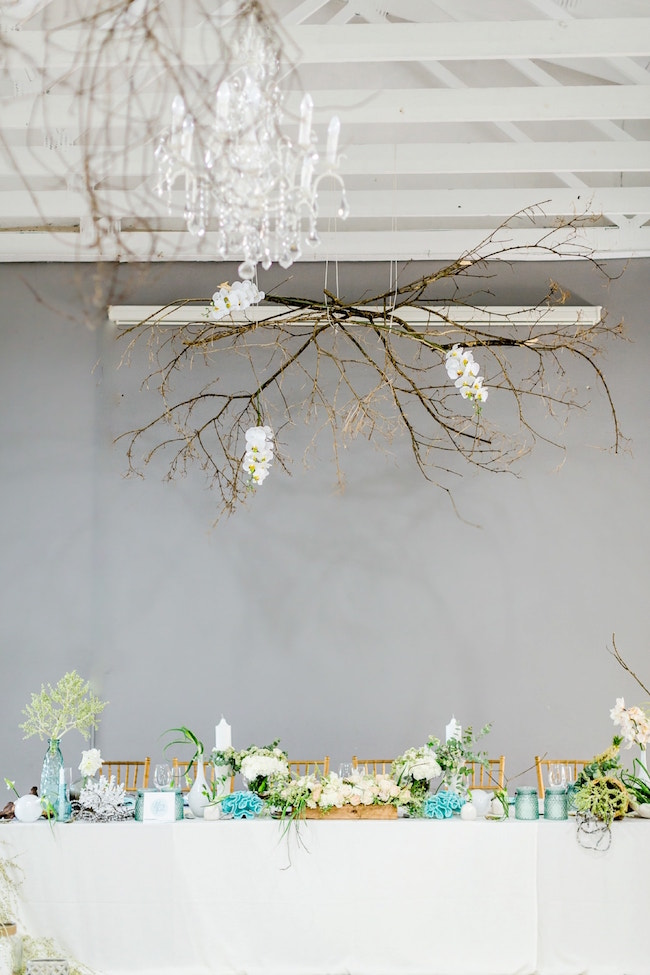 Dreamy Beach Wedding Decor | Credit: Grace Studios / Absolute Perfection
