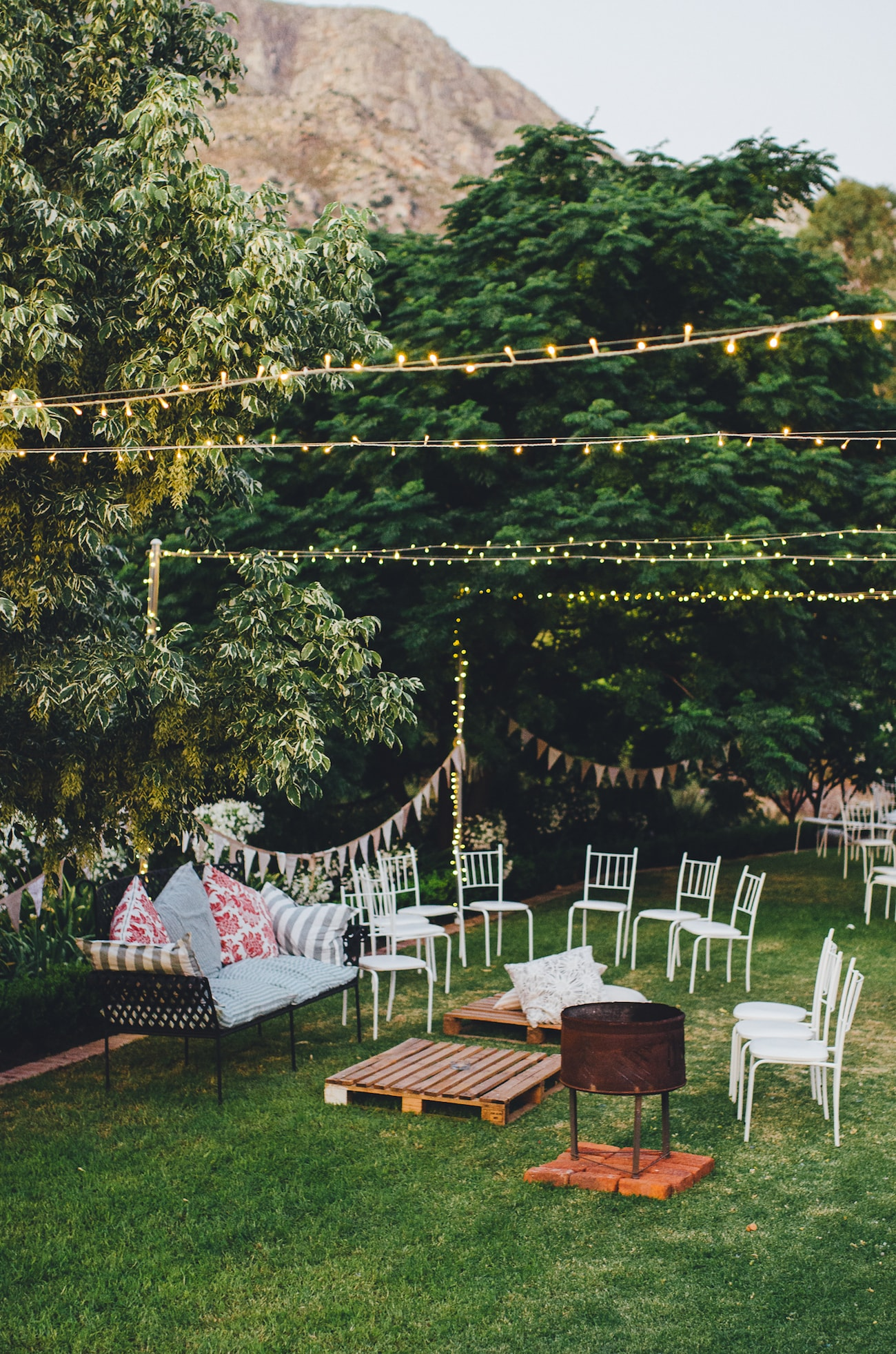Outdoor Wedding Reception | Credit: Yeah Yeah Photography