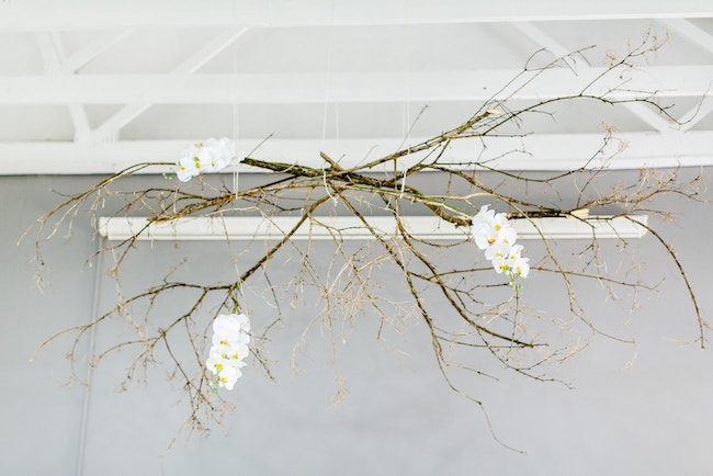 Branch & Orchid Hanging Decor | Credit: Grace Studios / Absolute Perfection