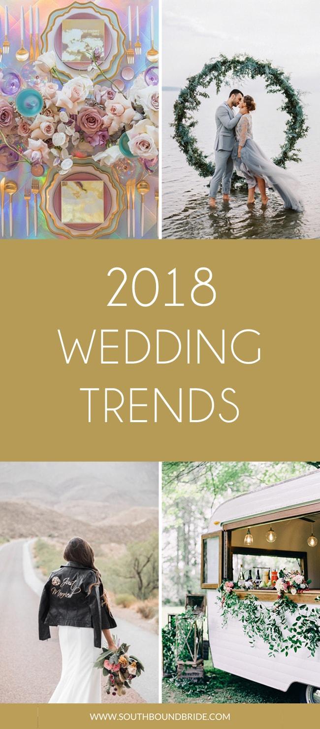 2018 S Top Ten Wedding Trends