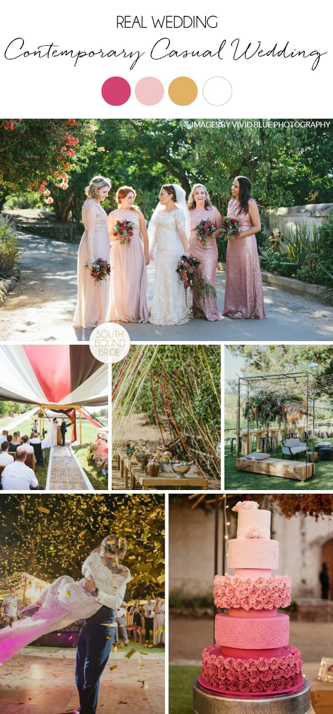 Contemporary Casual Wedding at The Dairy Shed by Vivid Blue | SouthBound Bride