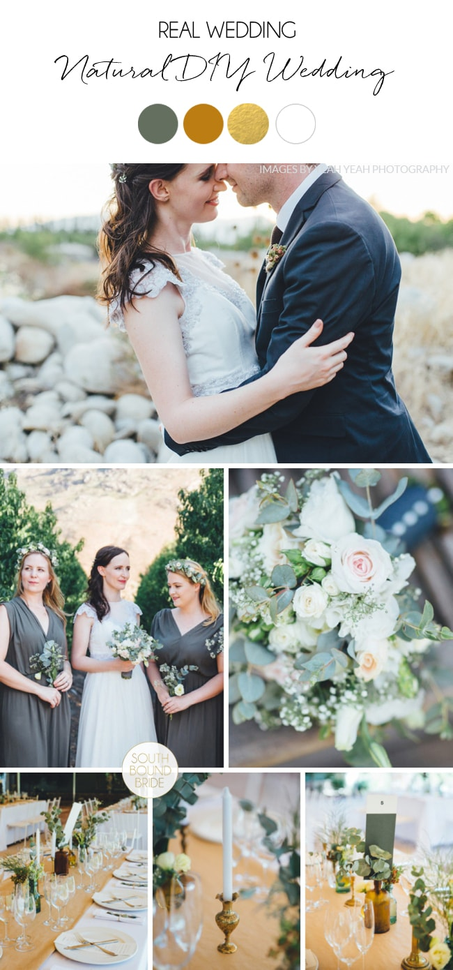 Natural DIY Wedding at Olive Rock by Yeah Yeah Photography | SouthBound Bride