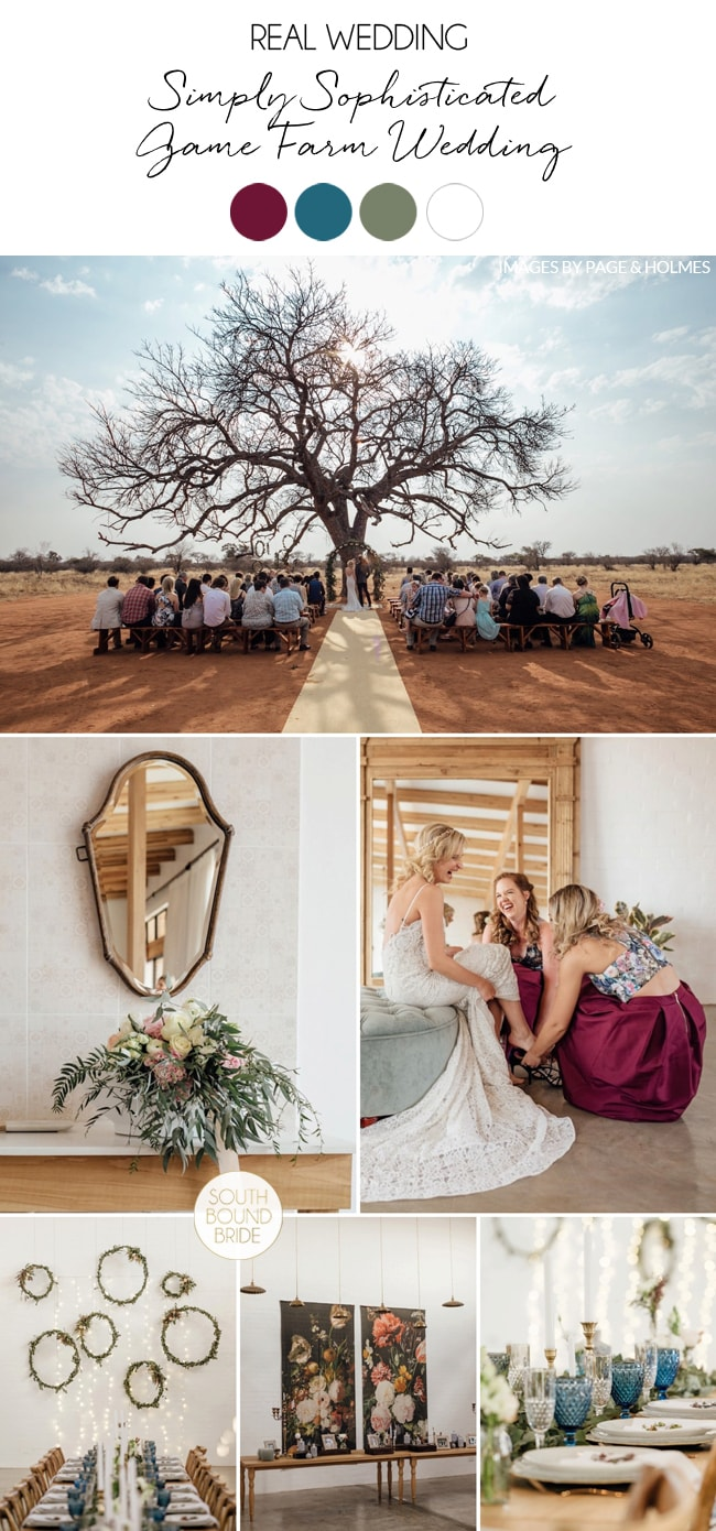 Simply Sophisticated Wedding at Bordeaux Game Farm by Page & Holmes | SouthBound Bride