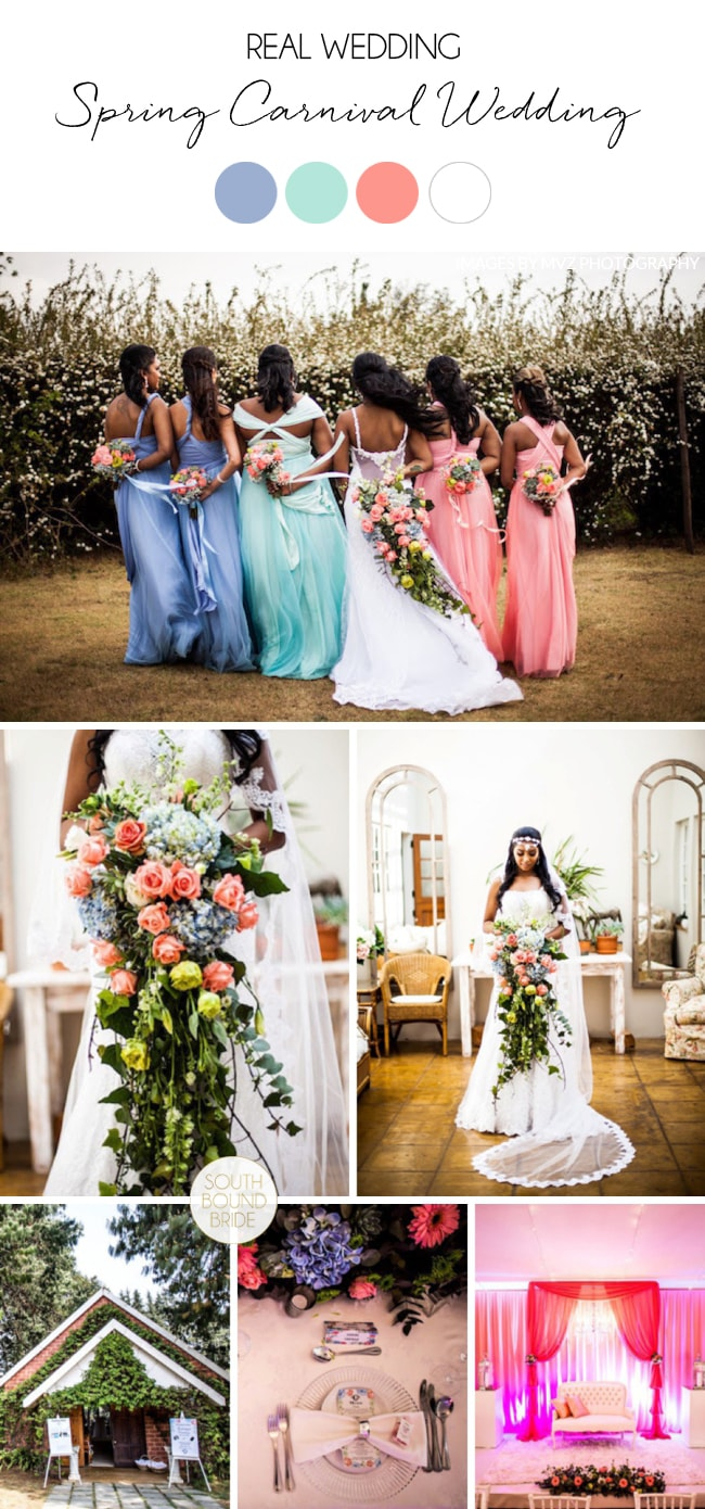 Spring Carnival Wedding by African Bear Photography | SouthBound Bride