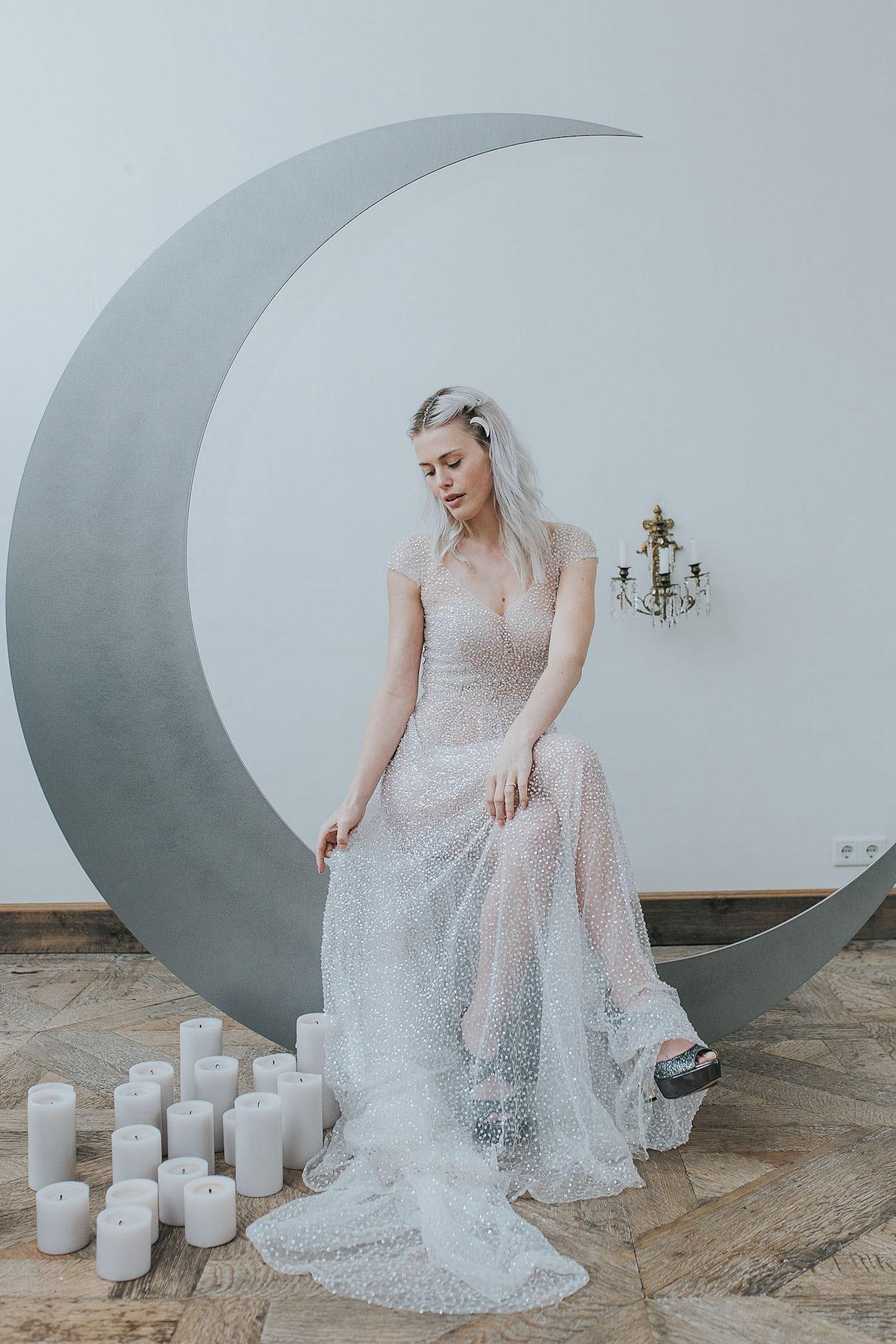Celestial Romance Wedding Inspiration by Cornelia Lietz & Kiss from ...