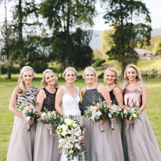 Stylish Citrus Country Wedding by Charlie Ray Photography
