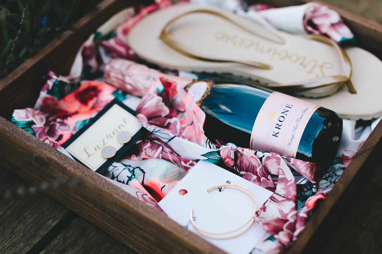 Bridesmaid Gift Box | Credit: Charlie Ray Photography