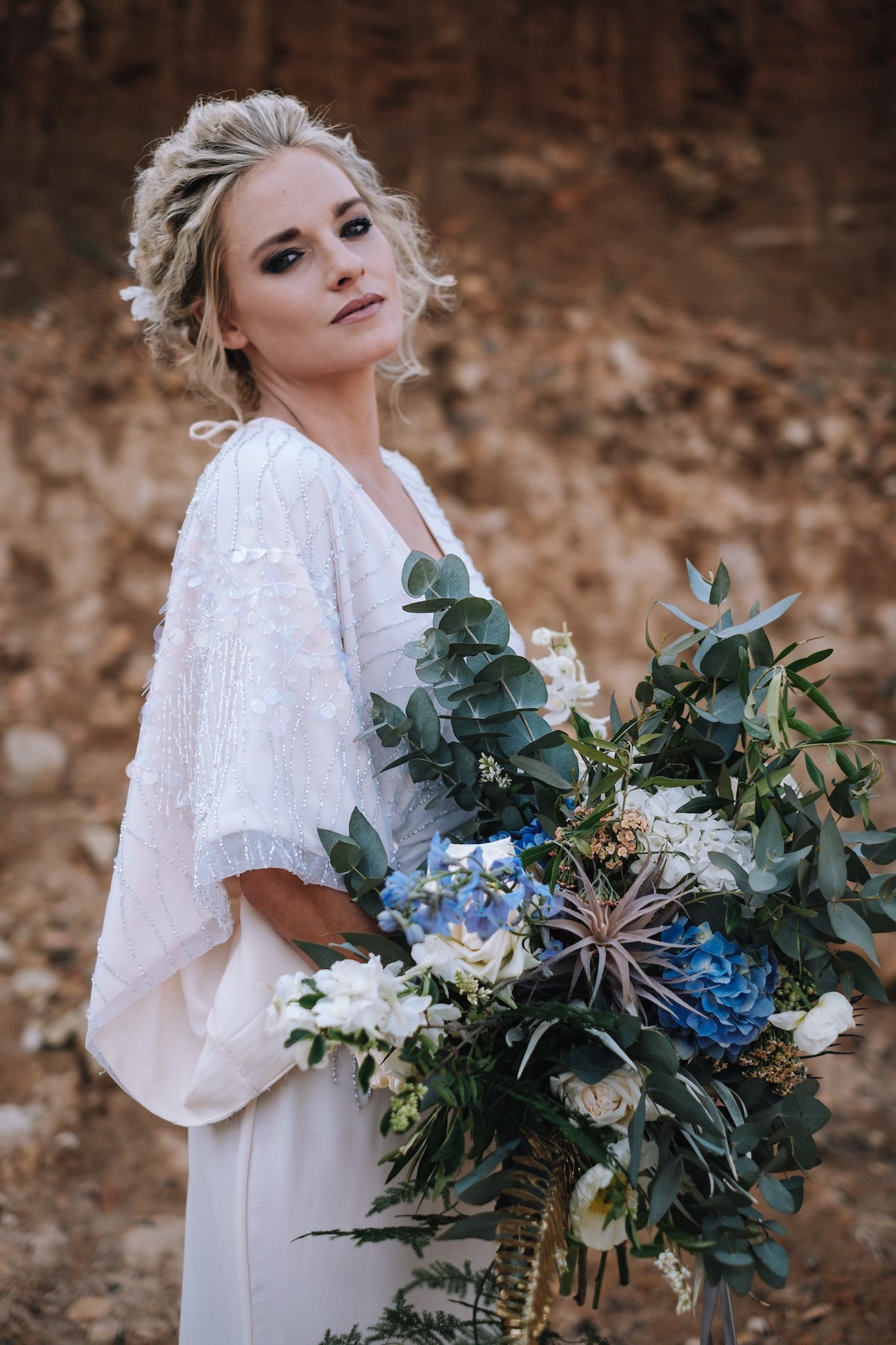 Wild Bouquet | Atmospheric Wedding Inspiration | Credit: The Shank Tank