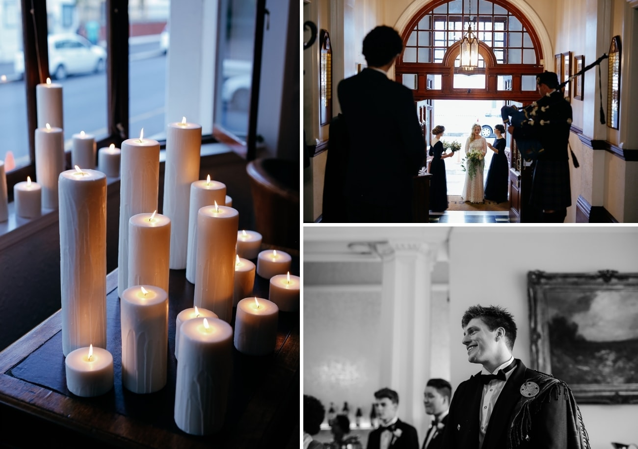 Cape Town Club Wedding Ceremony | Vintage Chic City Wedding at the Cape Town Club | Credit: Duane Smith