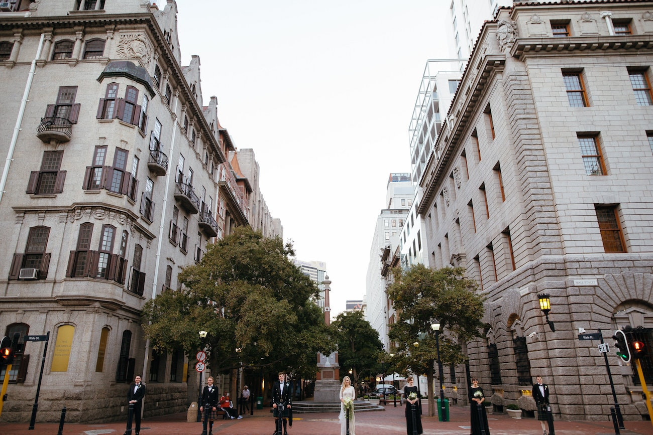 Cape Town City Wedding | Vintage Chic City Wedding at the Cape Town Club | Credit: Duane Smith