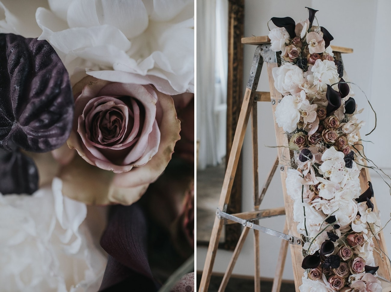 Moody Purple Florals | Credit: Cornelia Lietz