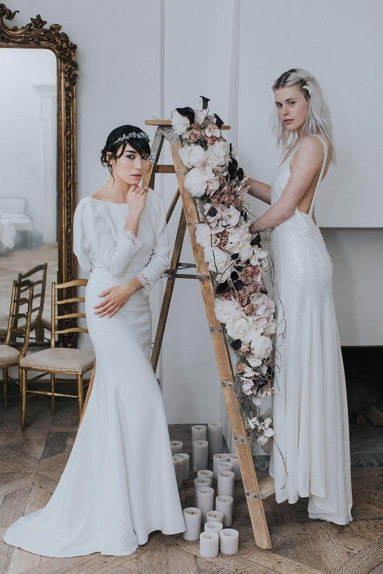Celestial Wedding Dresses | Credit: Cornelia Lietz