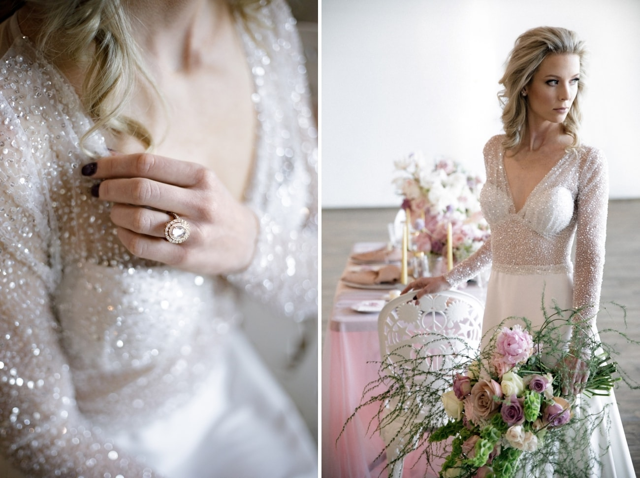 Romantic Iridescent Wedding Inspiration | Credit: Jessica Notelo (14)